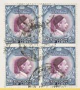KINGDOM  OF LIBYA  145 X 4    (o) - Libya