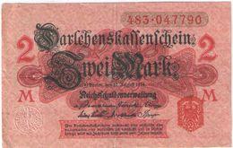 2 Mark /  Twei Mark/Reichsfchulderverwaltung/1914                BILL191 - [ 2] 1871-1918 : German Empire