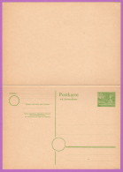 BER P 8 M 1949 10/10pf Cloisters, Kleist Park, W/Reply Card Attached - [5] Berlin