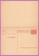 BER P 9 M 1949 20/20pf Polytechnic College, Charlottenburg, W/Reply Card Attached - [5] Berlin