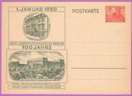 BER P 10 M 1950 8pf Schoeneberg, Rudolf Wilde Square - [5] Berlin