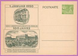 BER P 11 M 1950 10pf Cloisters, Kleist Park - [5] Berlin