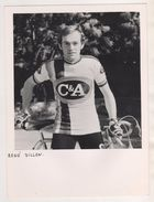 CYCLISME -  RENE DILLEN COUREUR BELGE VAINQUEUR DE GAND YPRES 1973 , PHOTO PUBLICITAIRE EQUIPE C & A DE 1978 - Radsport