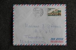 Lettre De Postes Aux Armées Vers MADAGASCAR ( Timbre Cat.CERES : N° 1567 ) - France