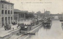 Paris19)  PARIS  - Le Canal Saint Martin - Rue De Crimée  ( Péniche ) - Arrondissement: 19