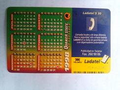 Mexico Quaker State 1998 Calendar - Olie
