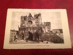 69 LYON  Il Y A Cent Ans     Cathédrale Saint-Jean - Otros