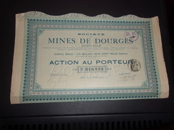 MINES DE DOURGES (1907) - Unclassified