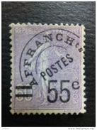Pré-oblitéré N° 47 Neuf ** - 1893-1947
