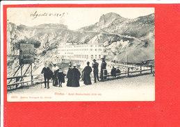 PILATUS Cpa Animée Hotel Pilatus Kulm          4853 Photoglob - LU Lucerne