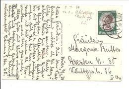 Kolonialfeier 1934.6Pf EF Mi 541.BUER>GELSENKIRCHEN>DRESDEN - Briefe U. Dokumente