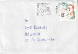 Deutschland Germany 2017 Gebrauchsbrief Johann Joachim Winckelmann Bremen - [7] République Fédérale