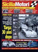 X SICILIA MOTORI 12/2008 TARGA FLORIO 30 ANNI DOPO L'INCIDENTE DEL 1977 - Motori