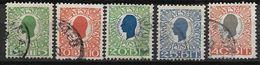 Antilles Danoises 1905 N° 27/31 Oblitérés Cote 50 Euros - Denmark (West Indies)