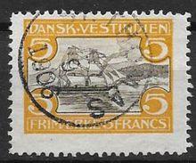 Antilles Danoises 1905 N° 35 Oblitéré Très Beau Cote 275 Euros - Denmark (West Indies)