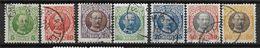 Antilles Danoises 1907 N° 36/43 Sauf 41 Oblitérés Frédérik VIII Cote 65 Euros - Denmark (West Indies)