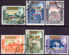SOUTH ARABIA SEIYUN 1967 SG #117-22 Compl.set Used CV £15 American Austronauts - Stamps