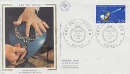 Enveloppe  FDC   1er   Jour     ART  DU  BIJOU     1983 - FDC