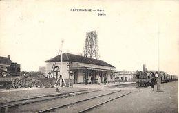 Poperinge Poperinghe - Gare Statie Station (animatie, Uitg. Sansen Vanneste) - Poperinge