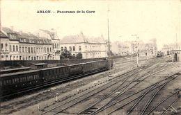 Arlon - Panorama De La Gare (animée, Train) - Arlon