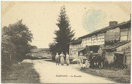 HAMPIGNY MARCHAND AMBULANT  La Marcelle, Attelage, - Autres Communes