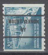 USA Precancel Vorausentwertung Preo, Bureau New York, Mount Vernon 1054A-81 - United States