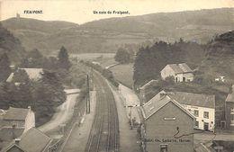 Fraipont - Une Coin De Fraipont (gare, Café Edit. Os. Lahaye, Vers Liège) - Trooz