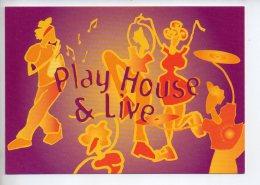 REF 296  : CPM Cart'com Illustrateur Franck Desplats Play House - Illustrateurs & Photographes
