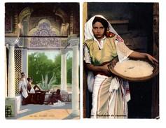 """TUNISIE . """" Pavillon Arabe """" & """" Marchande De Couscous """" . 2 Cartes Postales - Réf. N°6804 - - Tunisia"""