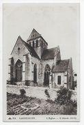 Gassicourt - L'Eglise - L'Abside - Mantes La Jolie