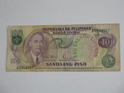 100 Sandaang Piso 1974-1985 Republika Pilipinas   **** EN ACHAT IMMEDIAT **** - Philippines