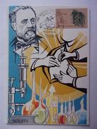 FRANCE CARTE MAXIMUM. 1985 YVERT 2371 LOUIS PASTEUR - Maximum Cards