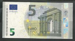 """Greece Rare Printer Y004F6 !! """"Y"""" 5 EURO GEM UNC! Draghi Signature! - EURO"""