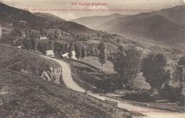 1386. ENVIRONS D'ARGELES . ROUTE THERMALE D'EAUX-BONNES AU-DESSUS D'ARRENS . AFFR LE 14-9-1931 . 2 SCANES - France