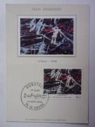 FRANCE CARTE MAXIMUM. 1985 YVERT 2381 JEAN DUBUFFET - Maximumkaarten