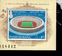 Rumänien Block 161 Olympische Sommerspiele MNH  Postfrisch ** - Hojas Bloque