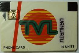VANUATU - Chip - 1st Issue - 30 Units - TVL Logo - 40727 - Mint Blister - R - Vanuatu