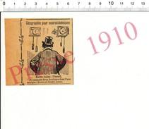 Humour 1910 Géographie Département Haute-Saône (autre Sonne) Vesoul Horlogerie Horloge Ancienne 216PPF4 - Unclassified