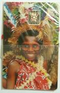 VANUATU - Chip - 2nd Series - 30 Units - VAN-04 - Young Woman - 00555 - Mint Blister - R - Vanuatu