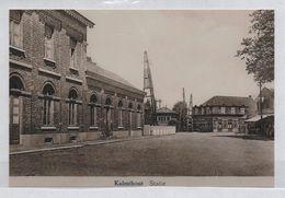 REPRODUCTION  KALMTHOUT  ANTWERPEN ANVERS STATIE GARE STATION - Kalmthout