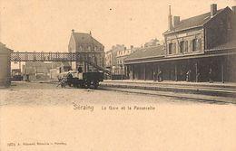 Seraing - La Gare Et La Passerelle (animée, A. Génard Libraire) - Seraing