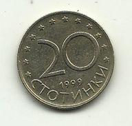 1999 - Bulgaria 20 Stotinki, - Bulgaria