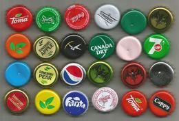 24  Used Crown Caps  From Hungary - Soda