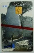 ZIMBABWE - 1st Issue - Cone Shaped Building - $30 - 10/97 - Mint Blister - Zimbabwe
