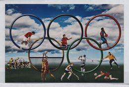 Photocopie Jeux Olympiques RIO 2016 Samsonov Tennis De Table Federer Tennis Volley Golf Hockey Rugby Basket - Table Tennis