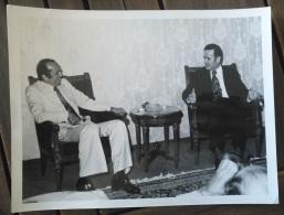 Lebanon & Syria 1970s Original Phono Of President Hafiz Al-Assad & President Kamel Al-Assaad - Syrië