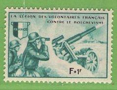 MiNr.VII.xx Deutschland Besetzte Gebiete II.WK Franz Legion Vignette - Besetzungen 1938-45