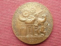 PAYS BAS Médaille Congrés International SCHEVENINGUE 1937 - Netherland