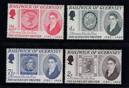 Guernsey 1971, Thomas De La Rue, Set 4 Unmounted Mint NHM - Guernsey