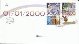 Año Nuevo 2000. (Espacio / Tecnología) - FDC & Commemorrativi